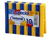 Набор прищепок TS Special 10шт, пластик