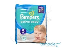 Scutece PAMPERS Active Baby 5 N22 (11-16kg)