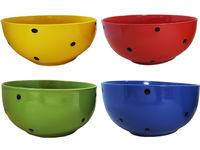 купить Салатница керамическая 13.5cm, разных цветов в Кишинёве