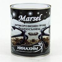 Нинахим Грунтовка антикоррозионная Marsel Черная 0.9кг