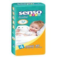 Senso Baby Ecoline подгузники Maxi 4, 7-18кг. 40шт
