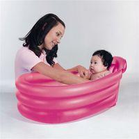 Надувная ванночка для детей 79х51х33см, 2 цвета