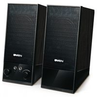 "купить Speakers SVEN SPS-604 Black,  2.0 / 2x2W RMS, USB power supply, headphone jack, wooden,  2.1"" в Кишинёве"