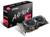 Видеокарта MSI Radeon RX 580 ARMOR 8G OC (8 ГБ/GDDR5/256 бит)