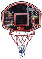 Щит баскетбольный 60х44 см + кольцо + сетка + мяч Spartan 1181 (3962)