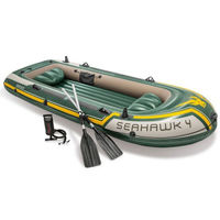 Набор надувная лодка и весла Intex 68351