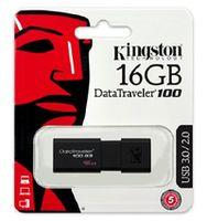 купить Kingston DataTraveler 100 Generation 3 (G3) 16GB Black, Retractable USB connector в Кишинёве