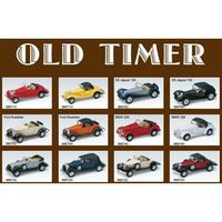 OLD TIMER 1:34 metal 12 modele RETRO