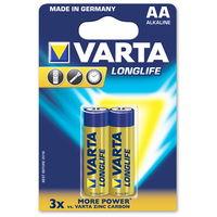 cumpără Baterie Varta Mignon Longlife Extra AA (2buc) în Chișinău