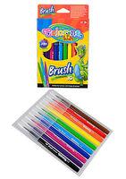 Brush markers Colorino 10 cul.