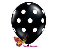 cumpără Balon  negru cu aer in Buline - 30 см în Chișinău