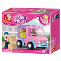 КОНСТРУКТОР GIRLS DREAM DISTRIBUTION VEHICLES В0520