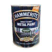 Hammerite Краска для металла Темно-Зеленая молотковая 2.5л