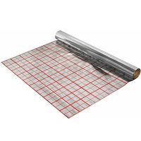 купить Изоляция  фольгированная для тёпл.пола PEE s= 5mm (1x100m) крас.сетка в Кишинёве
