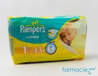 Scutece PAMPERS New Baby Mini 1 N43 (2-5 kg)
