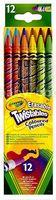 Crayola 687508 Выкручивающиеся карандаши (12 шт.)