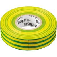 """Изолента жёлто-зелёная """"Navigator"""" серии NIT"""