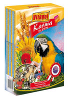 Полнорационный корм для крупных попугаев 0.5кг