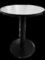 cumpără Masă din PAL cu picior metalic, cu suprafaţă albă 600x750 mm în Chișinău