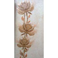 Декор (25*40) Каменный цветок беж