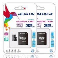 Карта MicroSD на 32 ГБ Adata + SD-адаптер / Class10