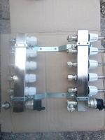 Коллектор тёплого пола 5+5 Emmeti с расходомерами