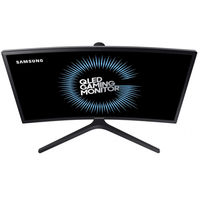 "23.6"" SAMSUNG ""C24FG73FQI"", Black (Curved-VA 1920x1080, 1ms @144hz, 350cd, LED Mega-DCR, HDMI+DP) (23.5"" Curved-VA LED, 1920x1080 Full-HD, 0.271mm, 1ms (MPRT), FreeSync 144Hz, 350 cd/m², Mega ∞ DCR (3000:1), 16.7M, 178°/178° @CR>10, HDMI x2 + DisplayPort, HDMI Audio-In, Headphone-Out, External Power Adapter, HAS 135mm, Swiwel, Pivot, (Tilt -2/+22°), VESA 75x75, Quantum Dot Color, Flicker Free, Eco saving plus, Eye saver mode, Flicker free, Low Input Lag, Game mode, AMD FreeSync, Black)"