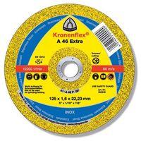EXTRA/A46 EX/GER/125x1.6x22.23 discuri debit. KLINGSPOR