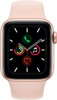 Apple Watch 5 40mm/Gold Aluminium Case With Pink Sand Sport Band, MWV72 GPS