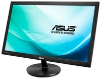 """23.6"""" ASUS """"VS247HR"""", Black (1920x1080, 2ms, 250cd, LED50M:1, DVI, HDMI) (23.6"""" TFT+LED backlight, Full HD(16:9) 1920x1080, 0.272mm, 2ms (G2G), DC50000000:1 (1000:1), 250cd/m2, 170°/160°, H:24-83kHz, V:50-75Hz, D-Sub, DVI-D, HDMI1.3, Black)"""