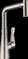 Metris M71 Baterie de bucătărie, 320, cu duș extensibil, 2 jet