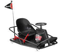 Электро карт Razor Ride-On Crazy Cart XL, Black