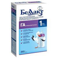 Беллакт молочная смесь Гипоаллергенная 1, 0-6 мес. 350г