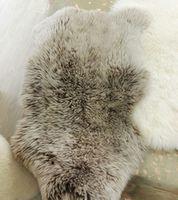 Шкура из австралийской овечки №102BS, кофе с молоком