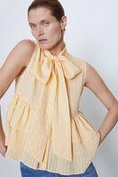 Блуза ZARA Желтый 4786/074/300