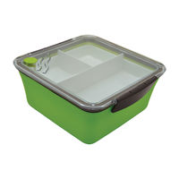 Контейнер Baladeo Bento Nagoya Box, green, PLR512
