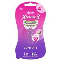 Бритвы для женщин Xtreme3 Beauty, 3+1 шт, 3 лезвия