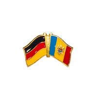 купить Значок - Флаг Германия & Молдова в Кишинёве