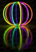 Светящаяся палочка - браслет (Glow stick) одноцвет