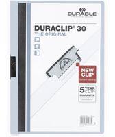 Durable Папка с клипом DURACLIP 30 A4 пластиковая синяя