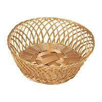 Корзинка плетеная круглая  пластик 28*11 см (17840)
