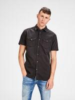 Рубашка JACK&JONES Чёрный 12134562 jack jones.