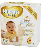 Huggies Elite Soft 3 (5-9 кг.) 21 шт.
