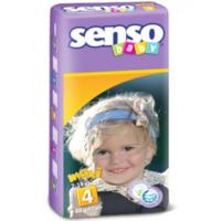 Senso Baby Scutece Maxi 4, 7-18 kg, 40 buc.