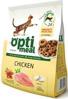 Optimeal «Защита иммунитета» Корм для кошек с курицей - 0,300 г