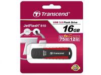 16 ГБ USB 3.0 Флеш-накопитель Transcend JetFlash 810, Black/Red (TS16GJF810)