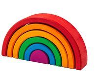 Marc Toys деревянная игрушка радуга