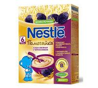 Nestle каша Помогайка овсяная с черносливом, 6+мес. 200г