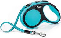 Flexi Поводок-рулетка Comfort M Tape 5m Blue (25kg)
