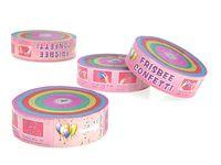 Набор конфети 4шт, 160X20X215mm
